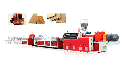 PE/PP WPC profile production line