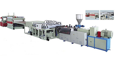 PVC WPC Crust Foamed Board Production Line