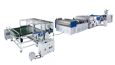PP PC Hollow Sheet Production Line